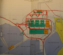 Plan for the Hazelwood Power Station circa 1969