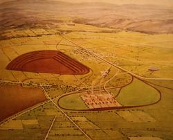 1948 proposal for a power station and open cut brown coal mine at Hazelwood