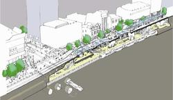 Figure 5-8 Concept for CBD North Station
