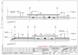 West Footscray turnback plans - platform elevations