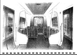 Proposed Clyde Engineering train for Bayside Trains interior