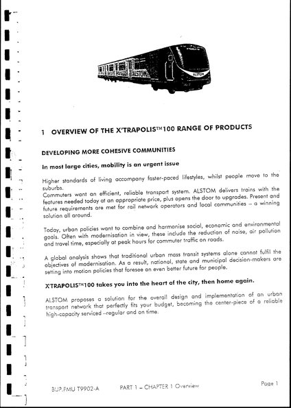 X'Trapolis train detail from Hillside Trains contract intro