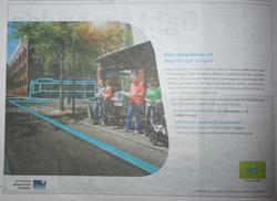 Half page myki rollout ad in the Geelong Advertiser - March 7 2009