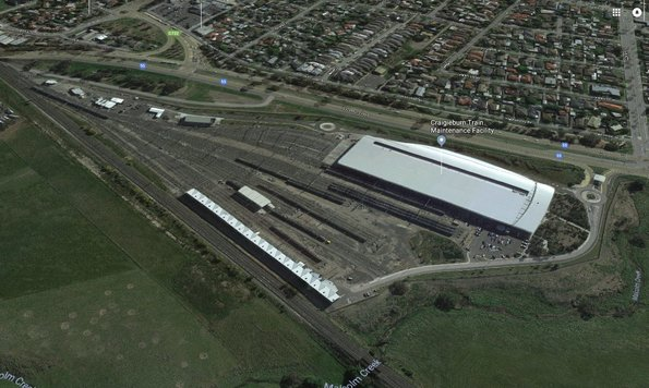Craigieburn Train Maintenance Facility - Google Maps