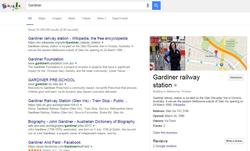 Disgruntled local resident is the thumbnail for Gardiner railway station